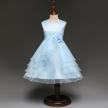 12 Years Old Baby Girl Wedding Party Dress Children Frock Design For