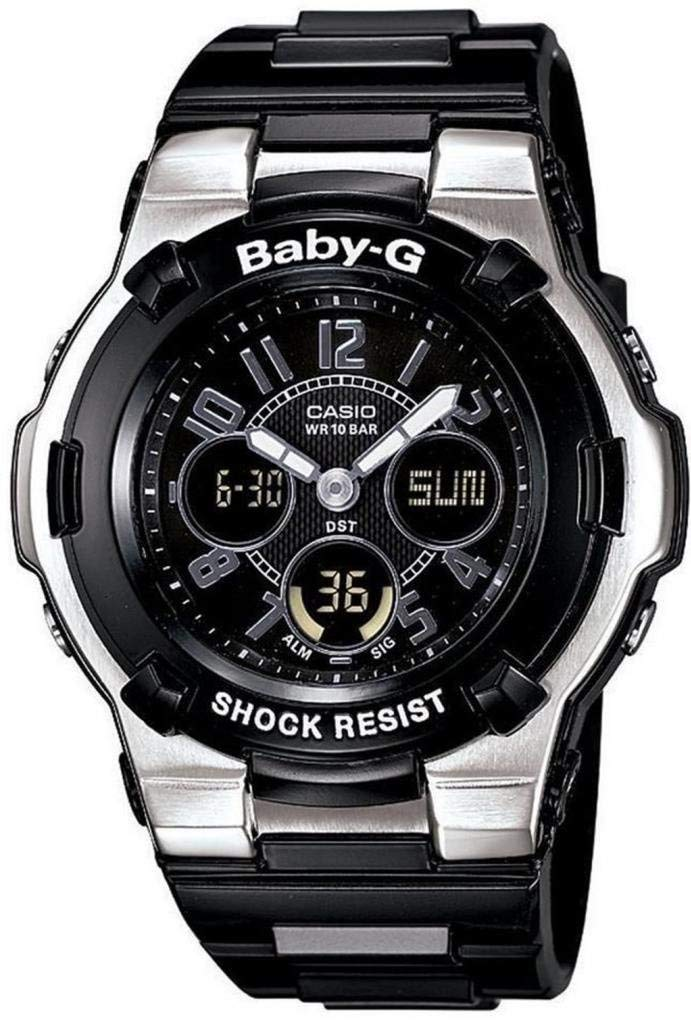 293a918ee2a8 Get Quotations · Baby-G BGA110-1B2 Shock Resistant Black Multi-Function  Sport Women s Watch