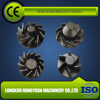 GOOD CHOICE ductile iron casting water pump impeller designs direct supply