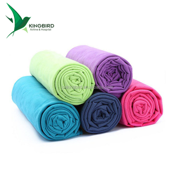 Wholesale Cheap Home Airplane Travel Double Fleece Blankets in Bulk