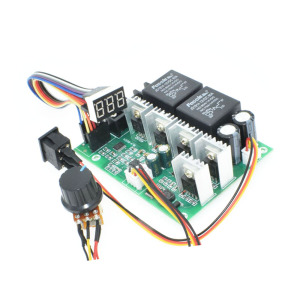 Digital LED Display 12V 24V 36V 48V 40A PWM DC Motor Speed Controller Forward Reverse Controller with Motor Down Switch