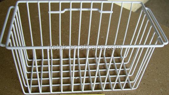 Metal Wire Freezer Basket For Refrigerator Parts Buy