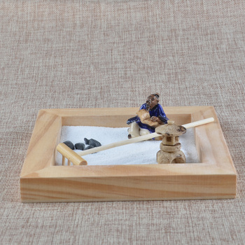 SPACECARE Magnetic Zen Sand Garden Box Set Toy For ScienceStress ReliefCreativity