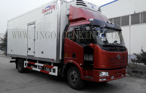 FAW refrigerated truck body