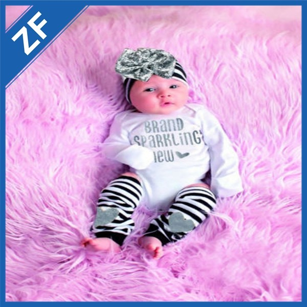 manufacturer supply different design baby romper with headband