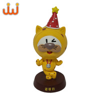 2019Custom Cute Resin Christmas Angel Statue,Lifelike Resin Animal Cat Ornaments Sculpture
