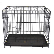 Zunhua large folding wire pet cage for dog house metal dog crate animal cages