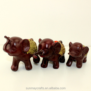 Custom cheap polyresin antique india elephants for sale