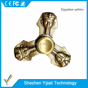 Special Retro Egypt Sphinx Fidget Spinner with Three heads