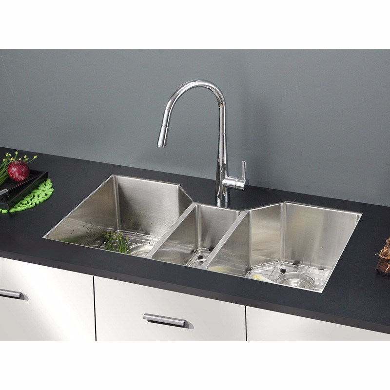 Triple Bowl Sink Triple Bowl Sink Suppliers And Manufacturers At Alibaba Com