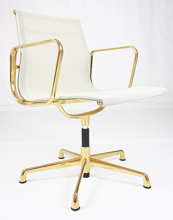 Office Chair Gold Frame