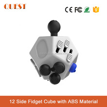 Trending Products Hand Spinner 12 Sides Fidget Cube, Anti Stress Cube Desk Toys for Children and Adults