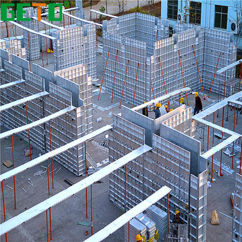 Fast Construction Time Concrete Wall Forms For Sale With Building Metal  Materials - Buy Concrete Wall Forms For Sale,Aluminium Formwork System