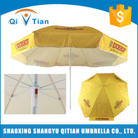Promotional top quality chinese new printing ideas beach parasol