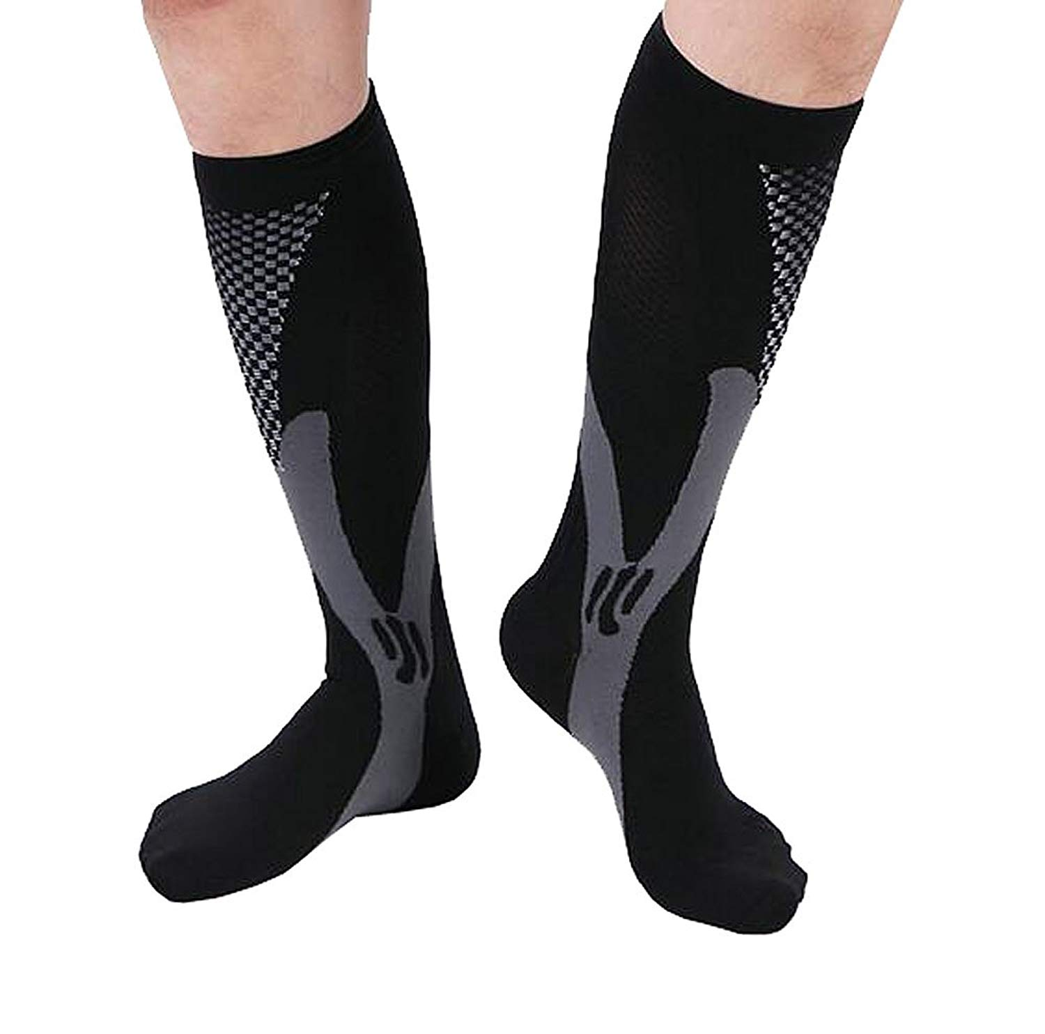 f4c320df66fed Get Quotations · Compression Socks,Urwish Unisex Athletic Stockings for  Recovery-Nurses,Sports, Maternity,