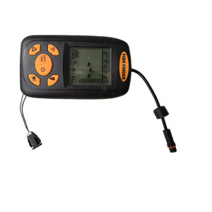 Portable LCD Display Mini Fish Finder Sonar Backlight Fish Detector Sonar Sensor wireless Fish finder 100m For ocean river lake