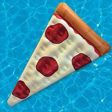 factory stock 180CM Inflatable Pizza Slice Float fruit pool float for summer funny