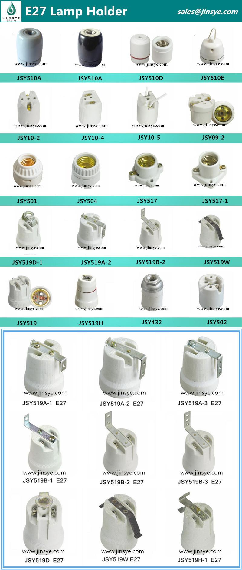 Ceramic Or Porcelain Lamp Holder Types E40/e27/e26/e39/e10/e12/e14 ... for Lamp Holder Types  55dqh