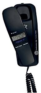 Southwestern Bell FM2552 Trimline Corded Phone with Caller ID (Black)