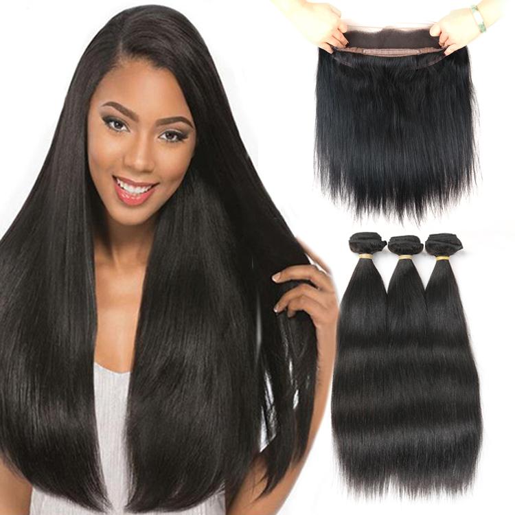 Virgin Unprocessed Raw Indian Hair Human Hair, Natural black 1b;1#;1b;2#;4# and etc