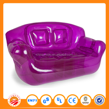 wholesale good quality leisure air sofa inflatable kids furniture