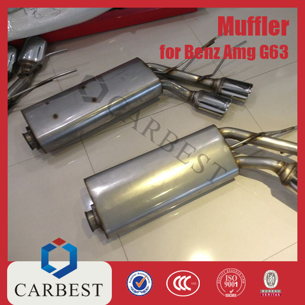 High Quality Stainess Steel Muffler for Benz AMG G63 W463