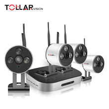 Top ten HD 4CH wireless security solution cctv ip camera nvr kit with special IP 66 waterproof function
