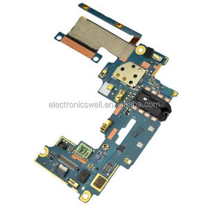 VOLUME BUTTON MIC EARPHONE AUDIO JACK CONNECTOR FLEX BOARD FOR HTC ONE M7 801E 801S