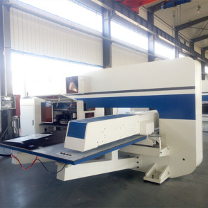 China AMADA AMD-357 CNC Turret Punching Machine / CNC Punch Press