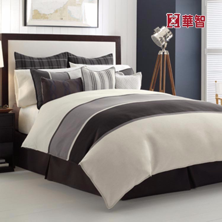 Patchwork Luxury Hotel Bedding Sets 100% Cotton Satin Silk Bed Sheet Sets