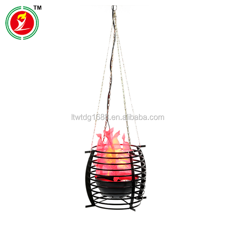Decorative Hanging Flame LED Silk Flame Effect Light