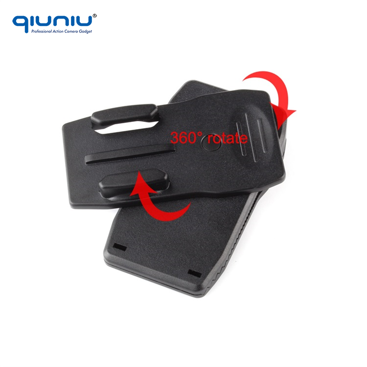Qiuniu Fast Delivery 360 Degree Rotary Backpack Hat Clip Fast Clamp Mount  For Gopro Hero 2 3 3+ 4 Sj4000 - Buy Mount For Gopro Product on Alibaba com