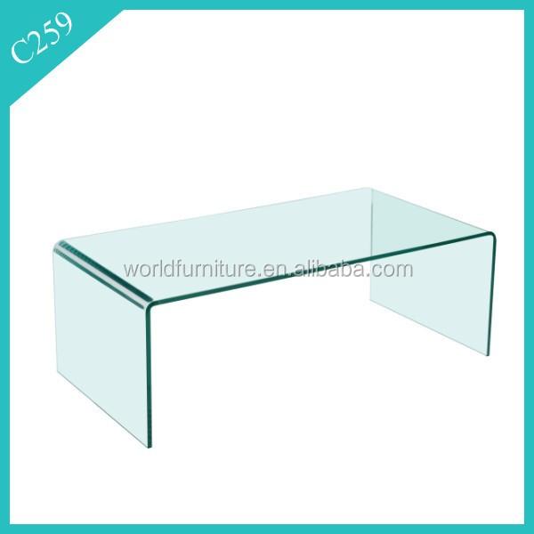 moderne geh rtetem hot gebogenes glas couchtisch buy product on. Black Bedroom Furniture Sets. Home Design Ideas