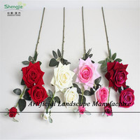 SJRF- 04 All colorful wholesales preserved fresh artificial rose flowers