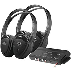 Get Quotations POWER ACOUSTIK HP 902RFT 2 Sets Of Channel RF 900MHz Wireless Headphones With