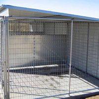 Professional made welded mesh dog kennels 26 years factory