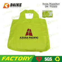Hot Sale High Quality Nylon Waterproof Tote Bags With Zipper DK-TG322