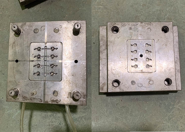 Development and design of a complete set of plastic parts mould for c45 circuit breaker