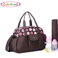 Large capacity waterproof Nylon Nappy Tote Hobos baby nursing messenger bag Mothers sorting bag travel bag