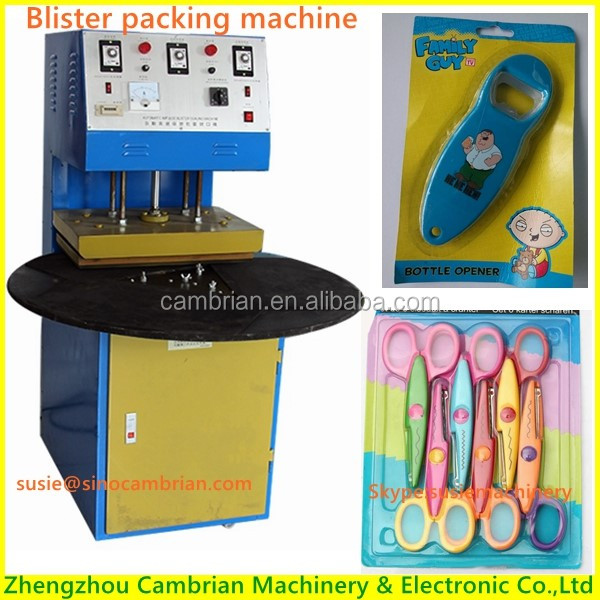 Factory supply auto blister pack sealing machine with low price