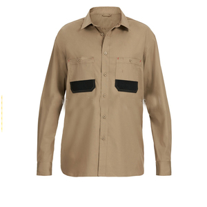 OEM wholesale cotton nylon breathable workwear shirts