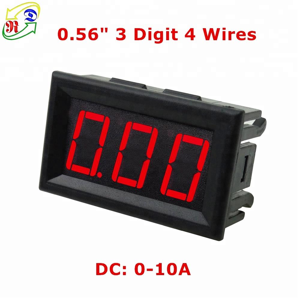 Digital Led Dc Panel Meter Suppliers And Combo Amperemeter Voltmeter Frame 0 100v 10a Manufacturers At