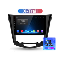 Wholesale 4G 2 din Android 8.1 Car Radio Multimedia 2G+32G Video Player GPS Navigation For Nissan X-Trail X Trail Qashqai Stereo