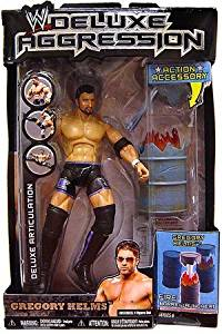 WWE Jakks Pacific Wrestling DELUXE Aggression Series 8 Action Figure Gregory Helms by Jakks Pacific