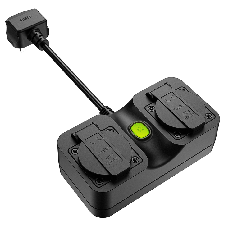Forrinx newest SH-30 <strong>BS</strong> UK <strong>standard</strong> Outdoor Wireless Plug Smart Wifi <strong>Socket</strong>,weatherproof <strong>socket</strong> with plug
