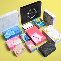 spot color express box print coatfruit tea wholesale custom e-commerce clothing underwear packaging paper gift box