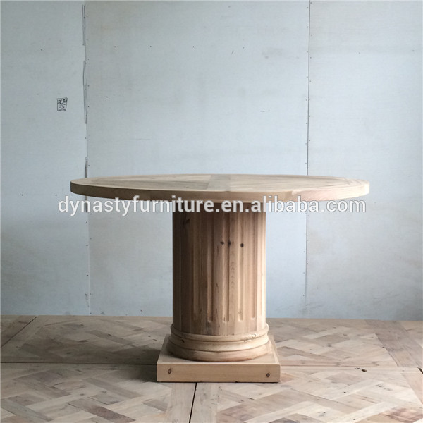 China manufacturer expandable round dining table