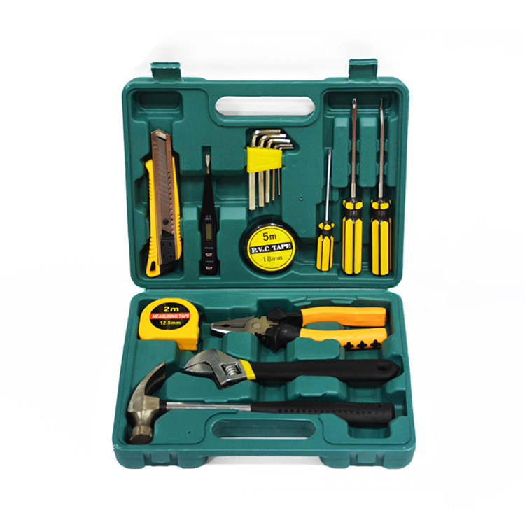 16pcs Hardware Set Combination Toolbox Household Tool Set