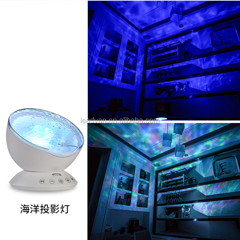 Baby Musical Aurora Borealis Projection Night Light With Perfect Sound Quality Speaker