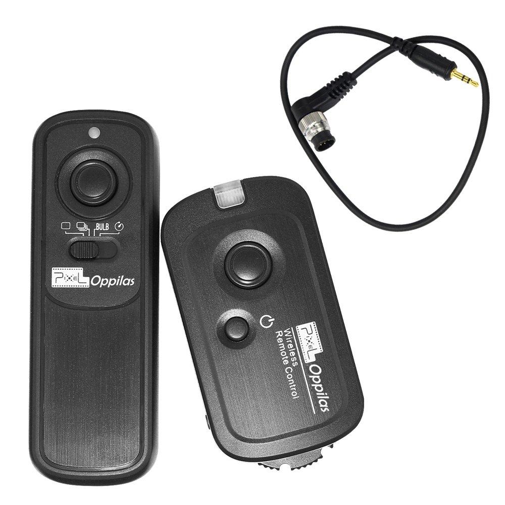 PIXEL RW-221/DC0 Wireless Shutter Release Remote Control for Nikon D800 D810 D300 D5 D4 N90s F90